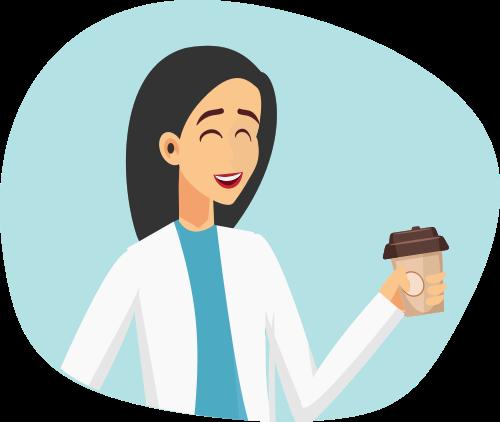nutricionista tomando cafe-2